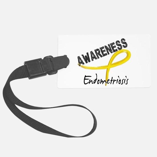 Awareness 3 Endometriosis Luggage Tag