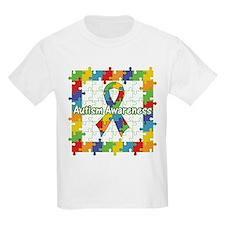 Autism Puzzle Square T-Shirt