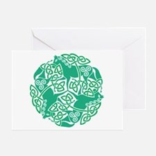Celtic Irish Horses St Patrick's Day Greeting Card