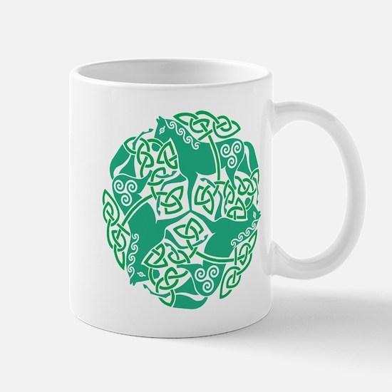 Celtic Irish Horses St Patrick's Day Mug