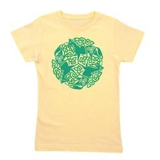Celtic Irish Horses St Patrick's Day Girl's Tee