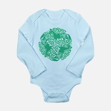 Celtic Irish Horses St Long Sleeve Infant Bodysuit