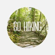 "Go Hiking 3.5"" Button"
