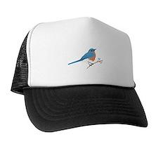 Eastern Bluebird Trucker Hat
