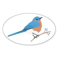 Eastern Bluebird Decal