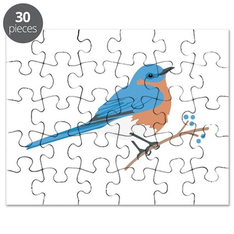 Eastern Bluebird Puzzle