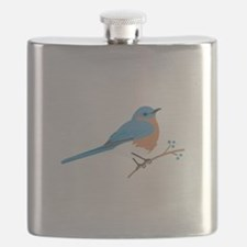 Eastern Bluebird Flask