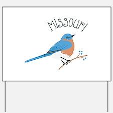 Missouri Bluebird Yard Sign