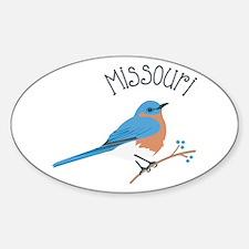 Missouri Bluebird Decal