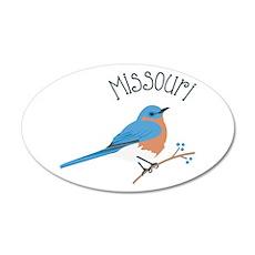 Missouri Bluebird Wall Decal