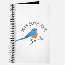 Home Sweet Home Bluebird Journal