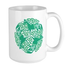 Celtic Irish Horses St Patrick's Day Mug