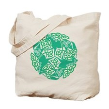 Celtic Irish Horses St Patrick's Day Tote Bag