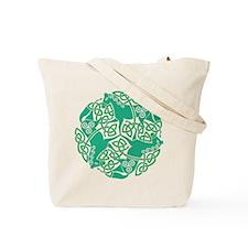 Celtic Irish Horses St Patrick's Day Tote Bag