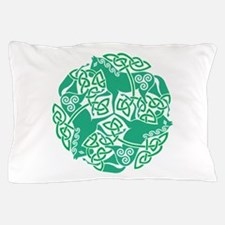 Celtic Irish Horses St Patrick's Day Pillow Case