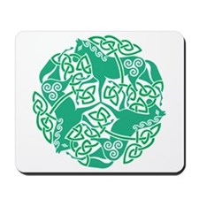 Celtic Irish Horses St Patrick's Day Mousepad