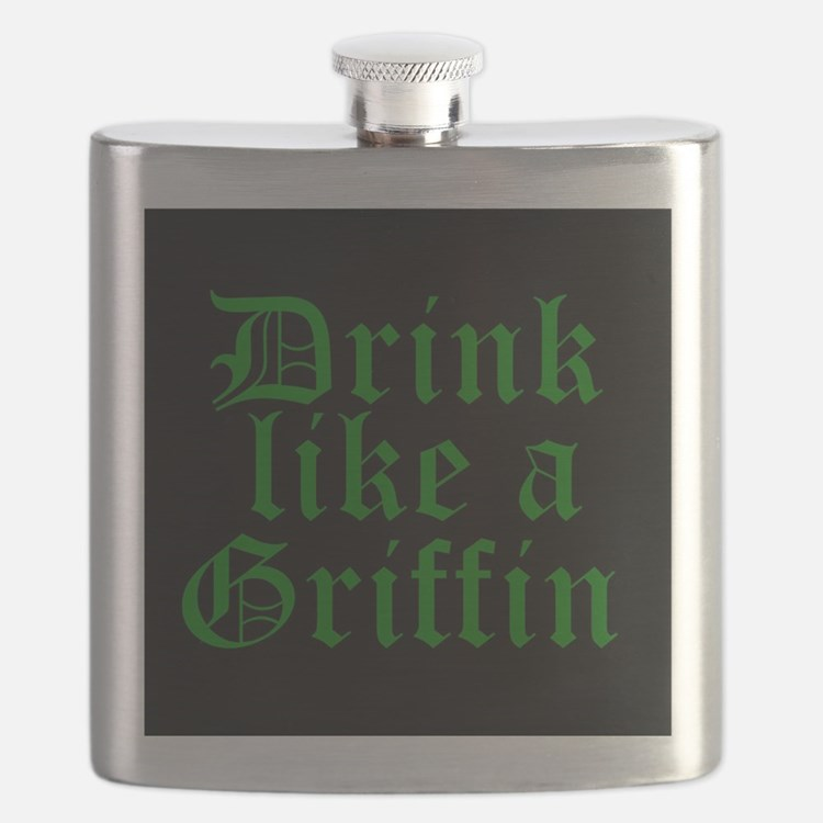 Drink Like A Griffin Flask