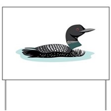 Great Northern Loon Yard Sign