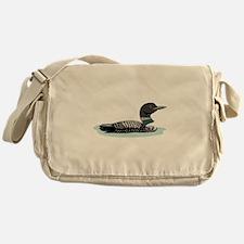 Great Northern Loon Messenger Bag
