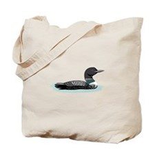 Great Northern Loon Tote Bag