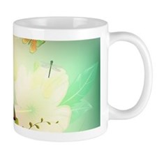 Flowers with butterflies Mugs