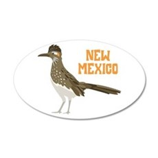 NEW MEXICO Roadrunner Wall Decal