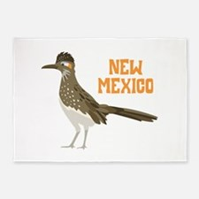 NEW MEXICO Roadrunner 5'x7'Area Rug