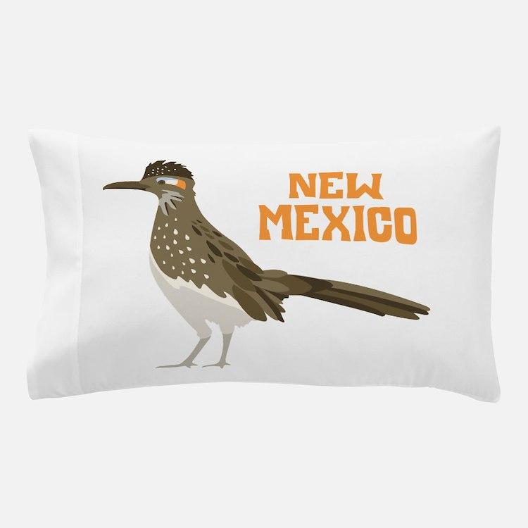 NEW MEXICO Roadrunner Pillow Case