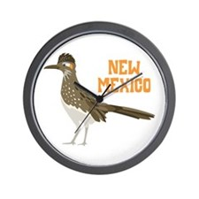 NEW MEXICO Roadrunner Wall Clock