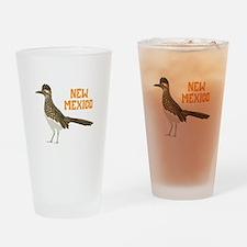 NEW MEXICO Roadrunner Drinking Glass