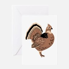 Ruffled Grouse Greeting Cards