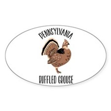 PENNSYLVANIA RUFFLED GROUSE Decal