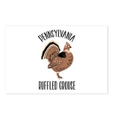 PENNSYLVANIA RUFFLED GROUSE Postcards (Package of