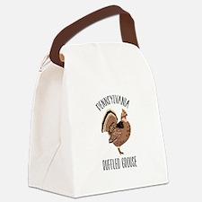 PENNSYLVANIA RUFFLED GROUSE Canvas Lunch Bag