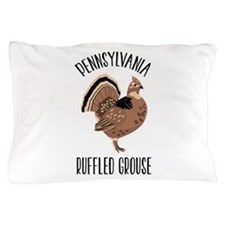 PENNSYLVANIA RUFFLED GROUSE Pillow Case
