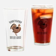 PENNSYLVANIA RUFFLED GROUSE Drinking Glass