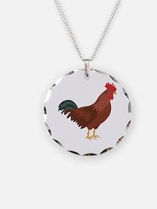 Red Chicken Necklace