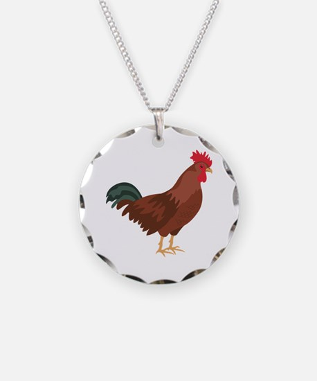 Red Chicken Necklace