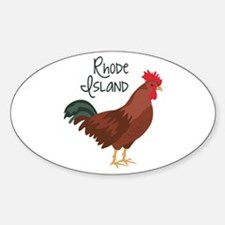 RhoDe IsLaND Red Chicken Decal