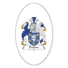 Dalton Oval Stickers