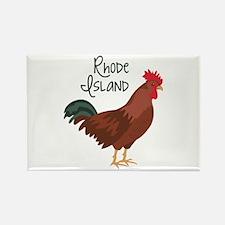 RhoDe IsLaND Red Chicken Magnets