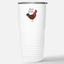 RhoDe IsLaND Red Chicken Travel Mug