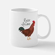 RhoDe IsLaND Red Chicken Mugs