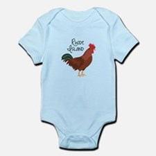 RhoDe IsLaND Red Chicken Body Suit