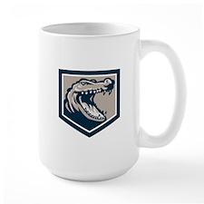 Alligator Head Snout Retro Mugs
