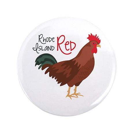 "RhoDe IsLaND ReD 3.5"" Button (100 pack)"