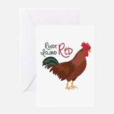 RhoDe IsLaND ReD Greeting Cards