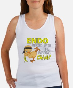 Messed With Wrong Chick 3 Endomet Women's Tank Top