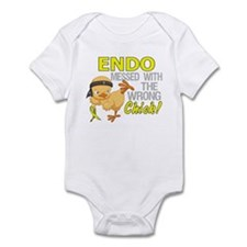 Messed With Wrong Chick 3 Endometr Infant Bodysuit
