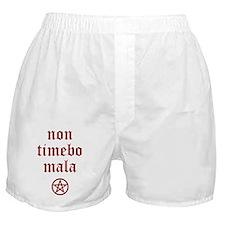 Non Timebo Mala Boxer Shorts